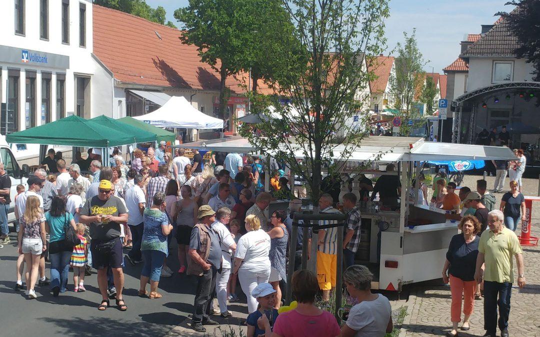 Erfolgsstorie Honigkuchen-Senffest Stadt Eldagsen
