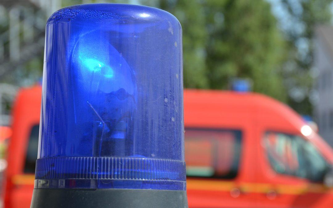 Nächtlicher Feuerwehreinsatz bei Regiobus