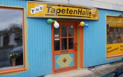 """Wiedereröffnung """"TapetenHalle"""""""