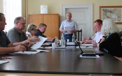 Einstimmig: Straßenunterhaltungsmaßnahmen und Stadtsanierung