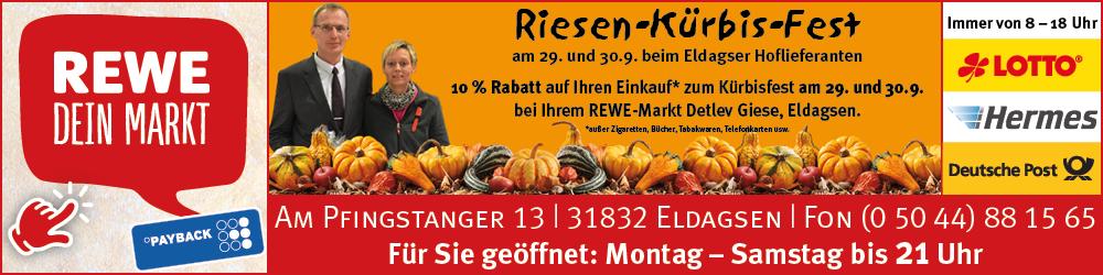 REWE Eldagsen Kürbisfest