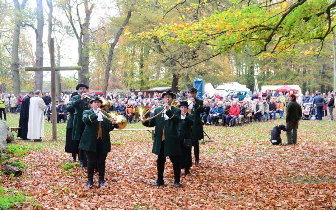 Wisentgehege feiert Hubertusfest