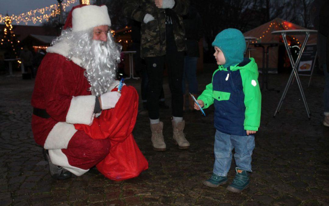 Der Weihnachtsmann war auch schon da