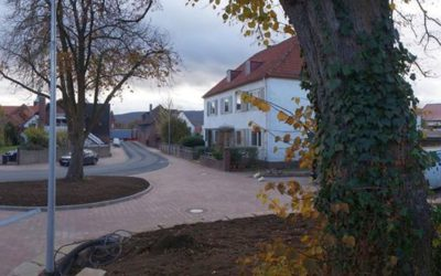 Umgestaltungen an der Wallstraße abgeschlossen