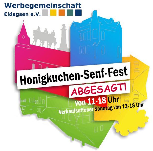 Honigkuchen-Senf-Fest 2020 abgesagt!
