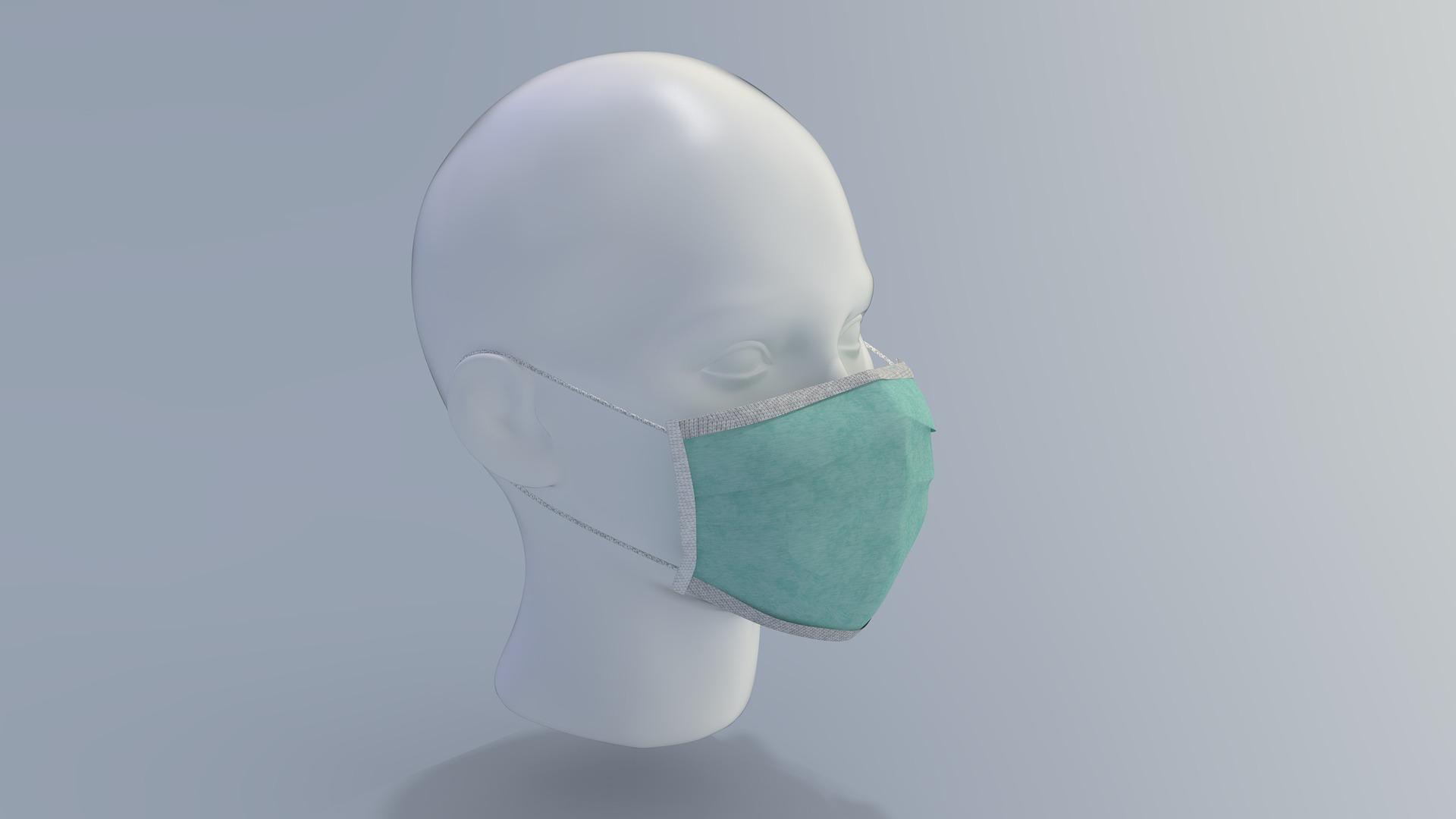 Lagerverkauf von FFP2-Masken