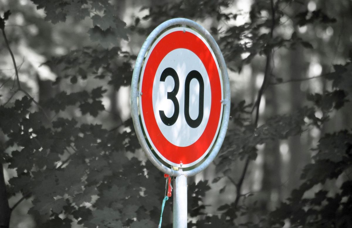Grüne unterstützen Innovationsprojekt Tempo 30