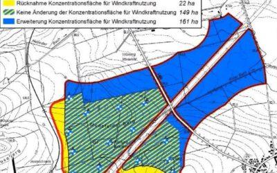 Windkraft: Nutzungsfläche soll entlang der L 460 erweitert werden
