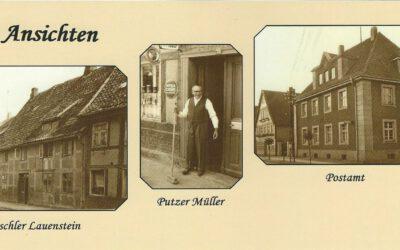 Klapp-Karten vom Bürgerverein Eldagsen